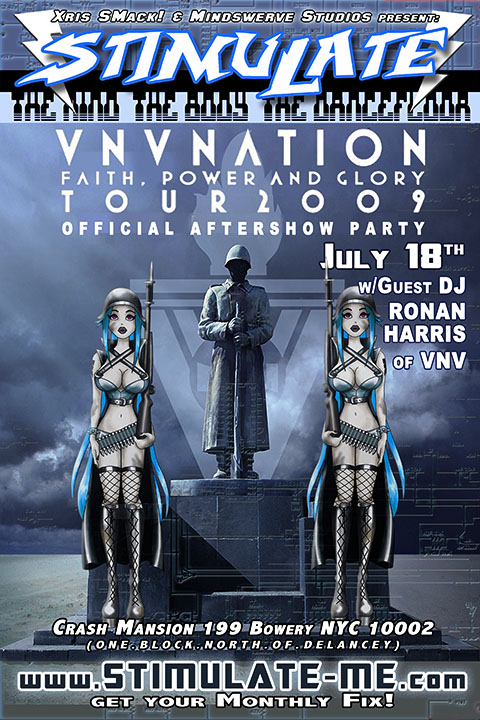 STIMULATE 7 18 09 VNVnation aftershowparty Girls Chained And Punished   STIMULATE: OFFICIAL VNV NATION