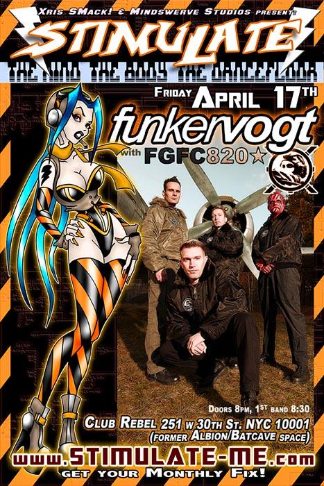 STIMULATE w/Funker Vogt live!