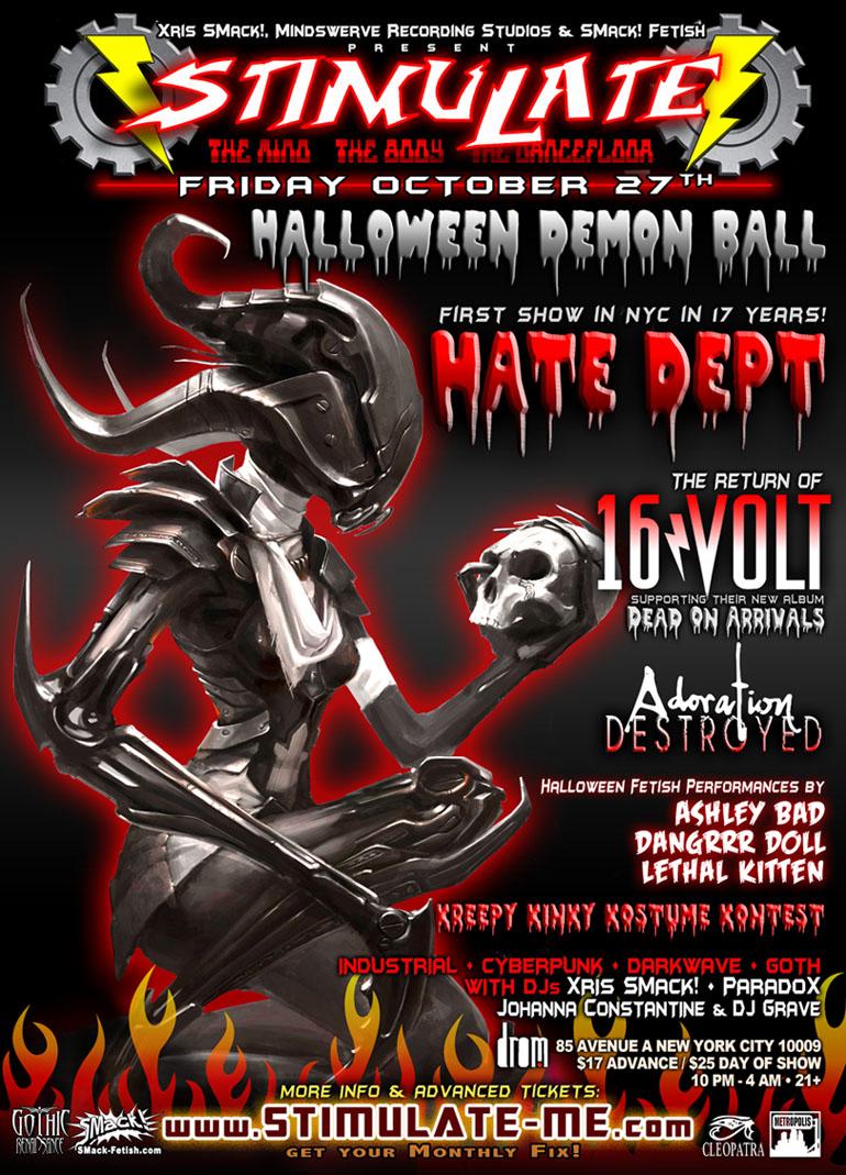 STIMULATE Halloween 10-27-2017